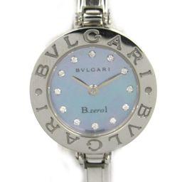 BVLGARI ブルガリ B-zero1 12Pダイヤモンド ウォッチ 腕時計 シルバー ステンレススチール(SS