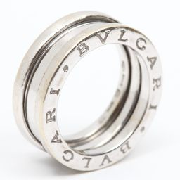 BVLGARI ブルガリ B-zero1 リング Sサイズ ビーゼロワン 指輪 シルバー K18WG(750) ホ