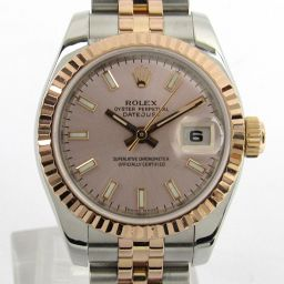 ROLEX ロレックス デイトジャスト ウォッチ 腕時計 179171 ゴールド ステンレススチール(SS) xK