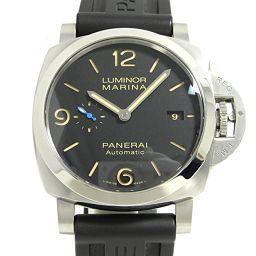 PANERAI パネライ ルミノール マリーナ 腕時計 ウォッチ PAM01312 ブラック ステンレススチール(