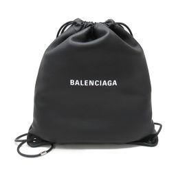 BALENCIAGA バレンシアガ リュックサック バックパック 504985 ブラック レザー 【中古】【ランク