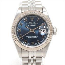 ROLEX ロレックス デイトジャスト 腕時計 ウォッチ 79174 ブルー ステンレススチール(SS) xK18