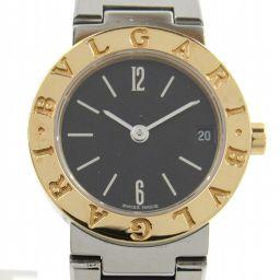 BVLGARI ブルガリ ブルガリ ブルガリ ウォッチ 腕時計 BB23SGD シルバー K18YG(750)イエ