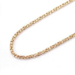 JEWELRY Jewelry Chain Necklace Gold K18PG (750) Pink Gold [Used] [Rank A