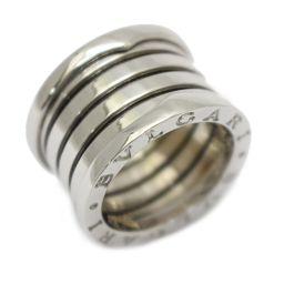 BVLGARI ブルガリ B-zero1 ビーゼロワン リング Lサイズ 指輪 シルバー K18WG(750) ホ