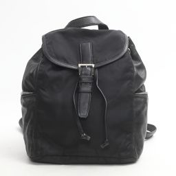 PRADA Prada Rucksack Backpack Black Nylon x Leather [Used] [Rank B] ​​Lady