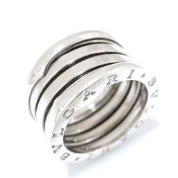 BVLGARI ブルガリ B-zero1 リング Mサイズ 指輪 シルバー K18WG(750) ホワイトゴールド