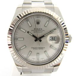 ROLEX ロレックス デイトジャスト? ウォッチ 時計 116334  シルバー K18WG(750)ホワイトゴ