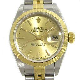 ROLEX Rolex Datejust watch 69193 Gold K18YG (750) Yellow Go