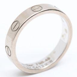 Cartier カルティエ ミニラブリング 指輪 シルバー K18WG(750) ホワイトゴールド 【中古】【ラン