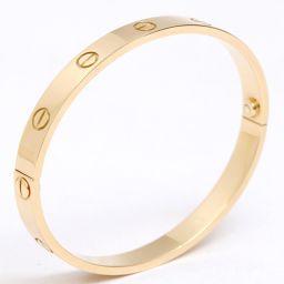 Cartier カルティエ ラブブレス ブレスレット ゴールド K18YG(750) イエローゴールド 【中古】【