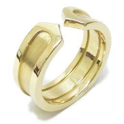 Cartier カルティエ C2 リング 指輪 ゴールド K18YG(750) イエローゴールド 【中古】【ランク