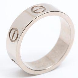 Cartier カルティエ ラブリング 指輪 シルバー K18WG(750) ホワイトゴールド 【中古】【ランクA