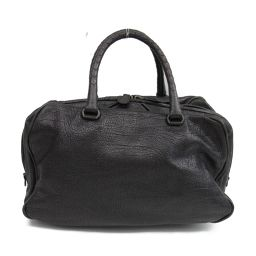 BOTTEGA VENETA Bottega Veneta Boston bag handbag 222729 black leather