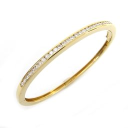 TIFFANY&CO ティファニー ダイヤモンド バングル ゴールド K18YG(750) イエローゴールド  x