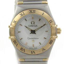 OMEGA オメガ コンステレーション ウォッチ 腕時計 1262.70 シルバー K18YG(750)イエローゴ