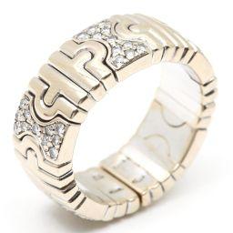 BVLGARI ブルガリ パレンテシ ダイヤモンド リング 指輪 クリアー K18WG(750) ホワイトゴールド