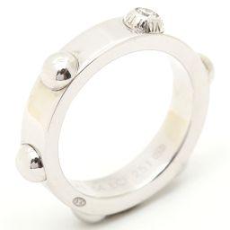 LOUIS VUITTON ルイヴィトン プティットバーグ クルーリング 1Pダイヤモンド 指輪 シルバー K18