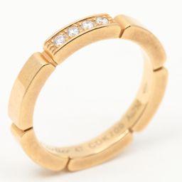 Cartier カルティエ マイヨンパンテールリング 4Pダイヤモンド 指輪 クリアー K18PG(750) ピン