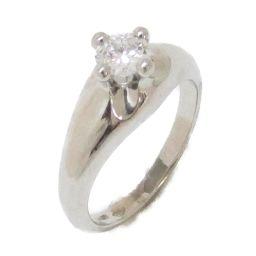BVLGARI ブルガリ コロナ ソリテール リング ダイヤモンド 指輪 クリアー PT950 プラチナ  x ダ