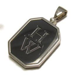 HARRY WINSTON Harry Winston Zarium HW Logo Top Pendant Top Silver K18WG (