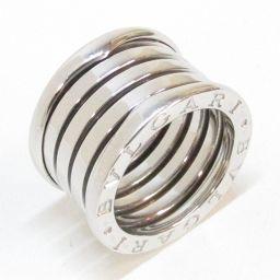 BVLGARI ブルガリ B-zero1 リング Lサイズ 指輪 ビーゼロワン シルバー K18WG(750) ホ