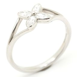 TIFFANY&CO ティファニー ヴィクトリア ダイヤモンド リング 指輪 クリアー PT950 プラチナ  x