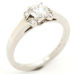 Cartier カルティエ バレリーナリング 指輪 クリアー PT950 プラチナ  x ダイヤモンド(0.46c