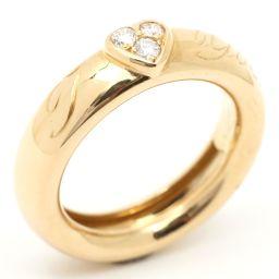 TIFFANY&CO ティファニー アイラブユー ダイヤモンド リング 指輪 ゴールド K18YG(750) イエ