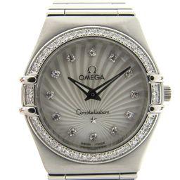 OMEGA オメガ コンステレーション 160years ダイヤベゼル/12Pダイヤ ウォッチ 腕時計 111.1