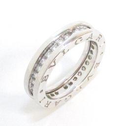 BVLGARI ブルガリ B-zero1 ダイヤモンドリング XSサイズ 指輪 ビーゼロワン クリアー K18WG