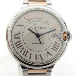 Cartier カルティエ バロンブルーLM ウォッチ 腕時計 W6920095 シルバー ステンレススチール(S