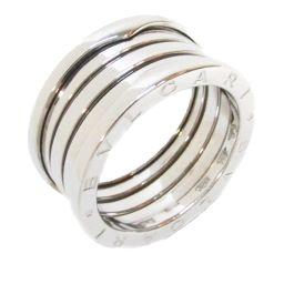 BVLGARI ブルガリ B-zero1 リング Mサイズ 指輪 ビーゼロワン シルバー K18WG(750) ホ