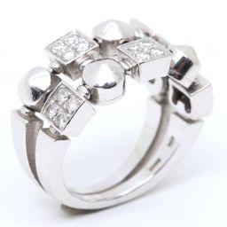 BVLGARI ブルガリ ルチア ダイヤモンド リング 指輪 クリアー K18WG(750) ホワイトゴールド