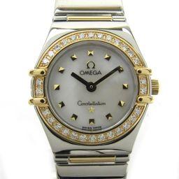 OMEGA オメガ コンステレーション ミニマイチョイス ダイヤベゼル ウォッチ 腕時計 1365.71 シルバー