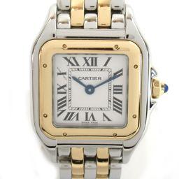 Cartier カルティエ パンテールSM ウォッチ 腕時計 シルバー K18PG(750)ピンクゴールド x ス