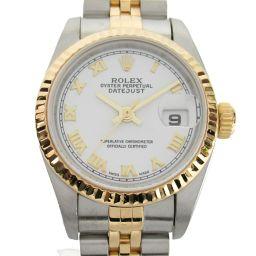 ROLEX ロレックス デイトジャスト ウォッチ 腕時計 79173 K番 シルバー K18YG(750)イエロー
