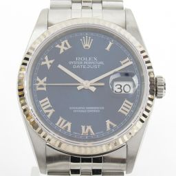 ROLEX Rolex Datejust Watch Wristwatch 16234 P number Silver K18WG (750) White