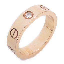 Cartier カルティエ ミニラブリング 1Pダイヤモンド 指輪 クリアー x ダイヤモンド K18PG(750