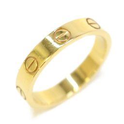 Cartier カルティエ ミニラブリング リング 指輪 ゴールド K18YG(750) イエローゴールド 【中古