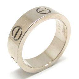 Cartier Cartier Love Ring Ring Silver K18WG (750) White Gold [Pre] [Rank A