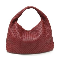 BOTTEGA VENETA Bottega Veneta Intrechart One Shoulder Bag 115653 Bordeaux