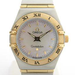 OMEGA オメガ コンステレーション ミニ ウォッチ 腕時計 1262.70 シルバー K18YG(750)イエ