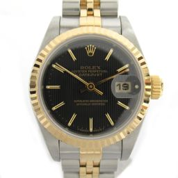 ROLEX Rolex Datejust Watch Watch 69173 T number Silver K18YG (750) Yellow