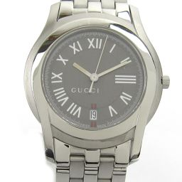 GUCCI Gucci Watch 5500M Silver Stainless Steel (SS) [Pre] [Rank A] Men