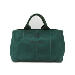 PRADA Prada Kanapa tote 2way tote bag B1877G OLEANDRO (green) canvas [