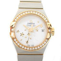 OMEGA オメガ コンステレーション スター ダイヤベゼル ウォッチ 腕時計 123.25.27.20.05.0