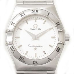 OMEGA オメガ コンステレーション ミニ ウォッチ 腕時計 1572.30 ホワイト ステンレススチール(SS