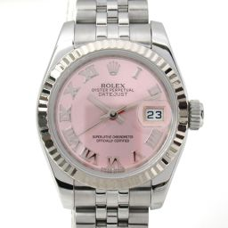 ROLEX Rolex Datejust Watch Wristwatch 179174 Random Number Silver K18WG (750