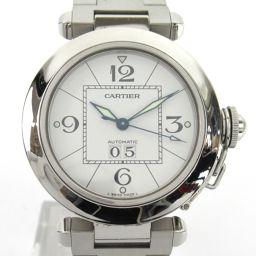 Cartier カルティエ パシャC ビッグデイト ウォッチ 腕時計 W310055M7 シルバー ステンレススチ